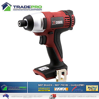 Cordless Impact Driver 18v Xceed® Variable Speed LED light Lithium with Bonuses
