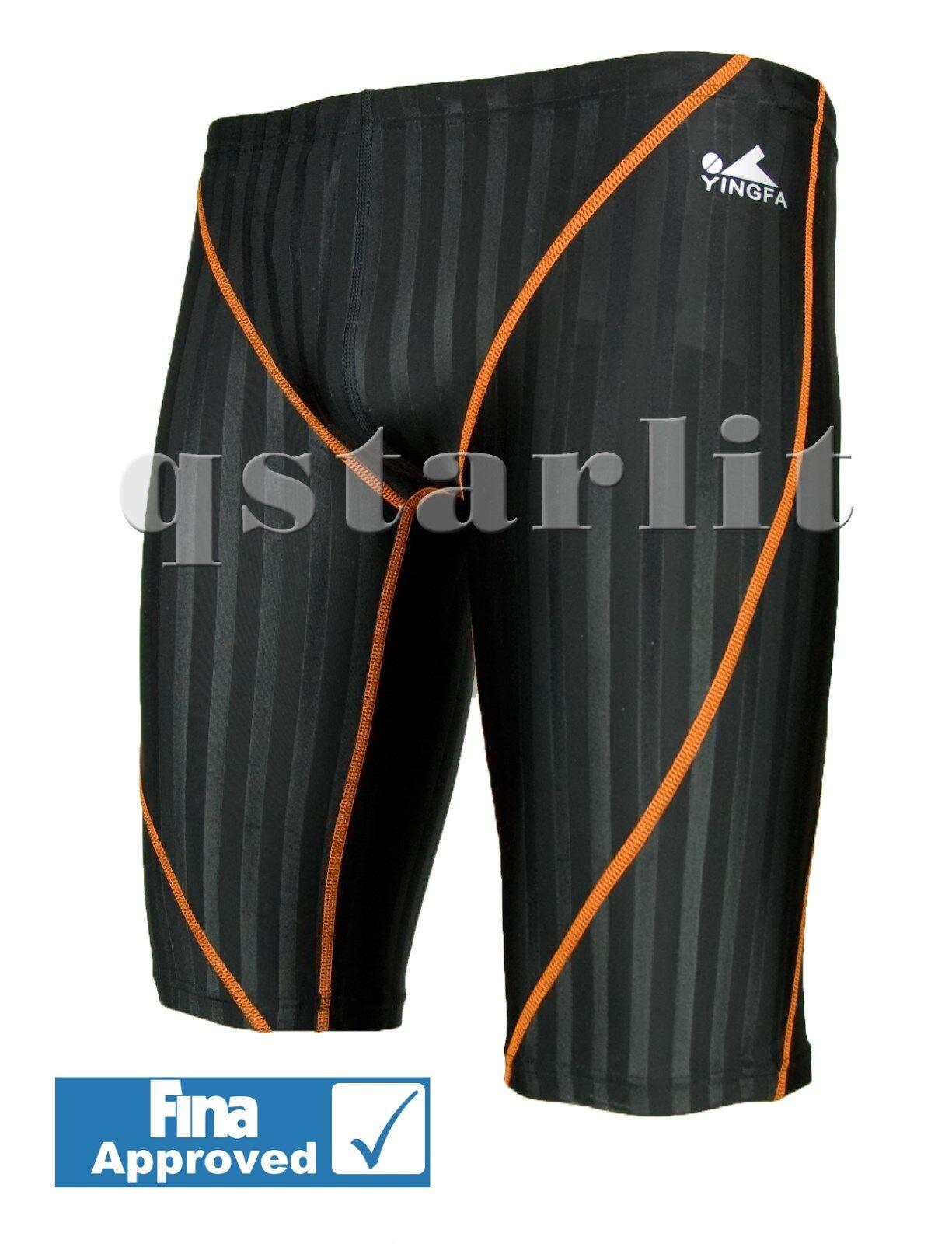 FINA Boys Men Racing Competition Aqua Blade Swimwear Jammer Size 22 & 32