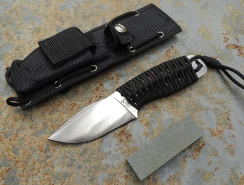 Colt Messer Outdoor Fahrtenmesser + Schärfstein + Scheide 440 Stahl CT619