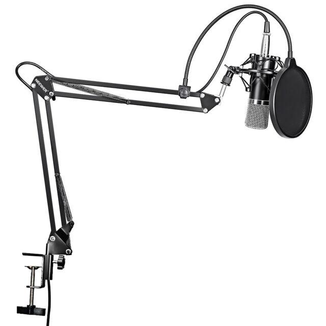 Neewer NW-700 Micrófono Condensador  para Transmisión y Grabación