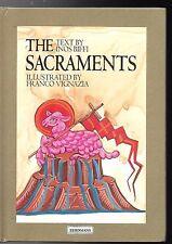 THE SACRAMENTS - Inos Biffl, illustrated by Franco Vignazia  Hard Cover Catholic