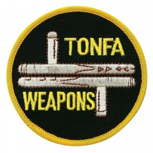 "Tonfa Weapons Martial Arts Patch 3/"" P1191"