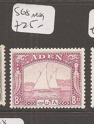 Stamps Enthusiastic Aden Sg 8 Mog 4dbm