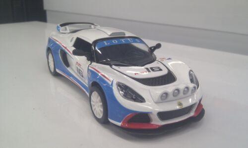 2012 Lotus Exige R-Gt Weiß Kinsmart Spielzeug Modell 1/32 Skala-Modelle Spielzeugautos