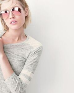 639bd8ee09a Image is loading Rose-Pink-Gold-Aviator-Sunglasses-Classic-Vintage-Mirror-