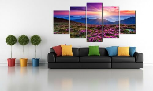 Extra Large Canvas Print Painting Pic Photo Wall Art Home Dec Floral Landscape