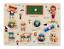 miniature 13 - Nouveau bébé enfants en bois puzzle Puzzle Jouets forme trieur Educational Learning Toy UK