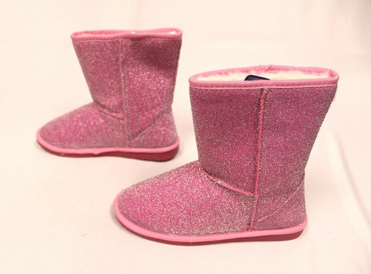 Dawgs Women's 9-Inch Frost Glitter Boots GG8 Soft Pink Size 9 .99