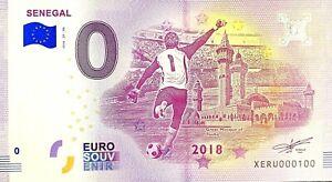 BILLET-0-EURO-COUPE-DU-MONDE-DE-FOOTBALL-SENEGAL-2018-NUMERO-100
