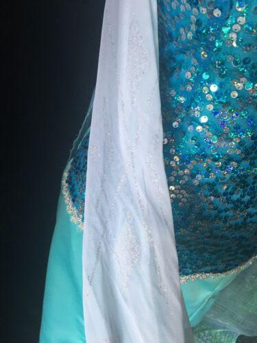 Elsa Costume Adult Dress Frozen Custom To Your Size Disney Princess Inspired