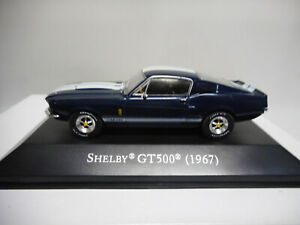SHELBY-GT500-1967-FORD-MUSTANG-AMERICAN-CARS-ALTAYA-IXO-1-43