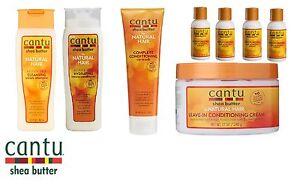 Cantu-Shea-Butter-Natural-Hair-Shampoo-Conditioner-Gel-Serum-Oil-Hair-Lotion