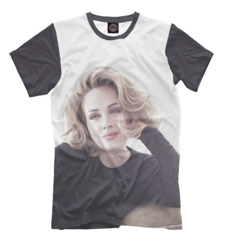 Adele tee - back t-shirt pop stars clothes music legend hot sale