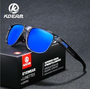 208cd01e798 Image is loading KDEAM-Men-TR90-Sport-Polarized-Sunglasses-Outdoor-Driving-