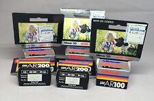 Vtg Albinar Camera Film Lot DX AR200 AR100 135 36 exp Each 35mm Expired 1993/2/1