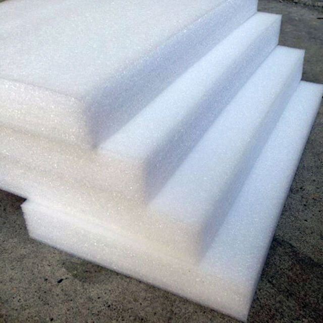 24x White EPE Pearl Foam Boards DIY Crafts Hobby Packing Smooth Styrofoam  Sheets