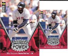 MO VAUGHN   1997 UPPER DECK PREMIER POWER #PP8  JUMBO & REGULAR CARDS