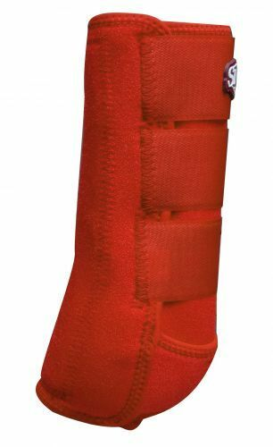 RED Showman Horse Elite Equine Sports Medicine  Splint Support Leg Tendon Boots  welcome to order