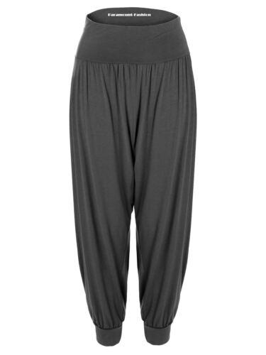 Womens Ladies Baggy Harem Trousers Pants Loose Fit Yoga Ali Baba Hareem Leggings