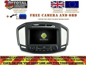 Details about AUTORADIO DVD GPS NAVI BT ANDROID 9 0 DAB* VAUXHALL OPEL  INSIGNIA 2014+ RD5548