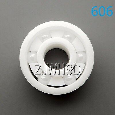 606 Full Ceramic Zirconia Oxide Bearing ZrO2 6 x 17 x 6 mm for Finger Gyro