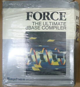 FORCE-The-Ultimate-dBASE-compiler-1990-by-Sophco