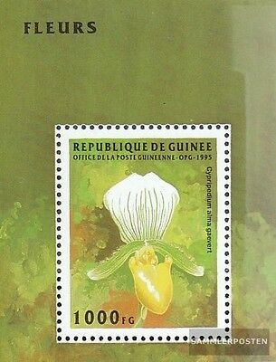 Unmounted Mint complete.issue. Obliging Guinea Block497 Never Hinged 1995 Flowers High Quality