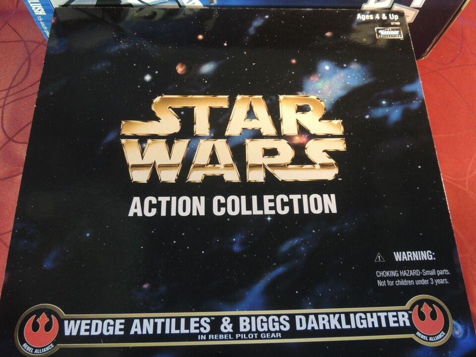WEDGE ANTILLES & BIGGS DARKLIGHTER, STAR WARS(1998)