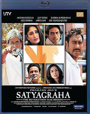 SATYAGRAHA (2013) AMITABH, AJAY, KAREENA, ARJUN, MANOJ - BOLLYWOOD BLU-RAY