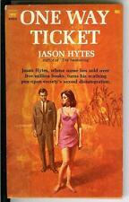 ONE WAY TICKET by Jason Hytes, rare US Tower noir sleaze gga pulp vintage pb
