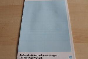 122599-VW-Golf-III-Variant-technische-Daten-amp-Ausstattungen-Prospekt-08-199