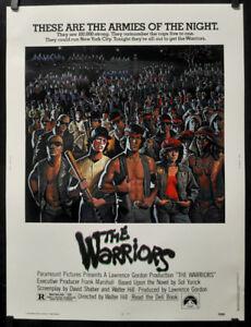 THE-WARRIORS-1979-ORIGINAL-30X40-MOVIE-POSTER-MICHAEL-BECK-JAMES-REMAR