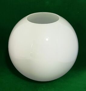 Details About 20cm 8 White Gl Globe Lampshade Ball Light Replacement Round Sphere