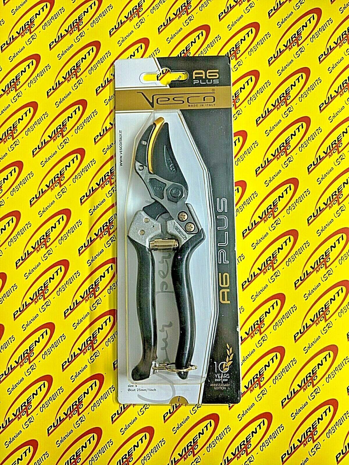in vendita scontato del 70% VESCO A6 PLUS Forbice potatura a battente battente battente forgiata. - Made in .  fornire un prodotto di qualità