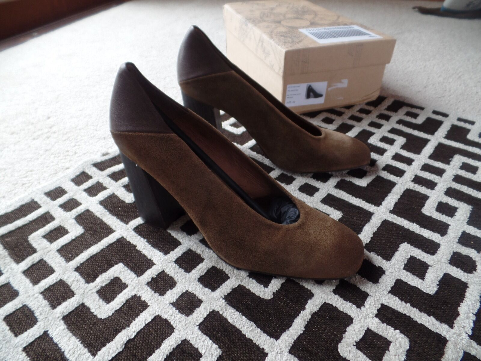 New Free People People People Take Heart Block Heel Größe 38 Euro  178 6fe1ca