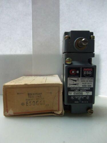 New Cutler Hammer E50GG1 Limit Switch E50SG, E50SG1, E50RA Series A2 NIB