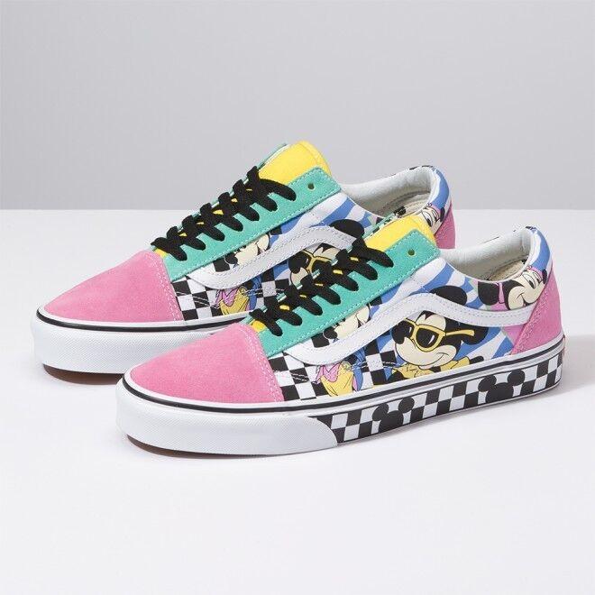 New VANS x x x Disney Mickey Mouse Old Skool Skate scarpe da ginnastica scarpe(VN0A38G1UJE) 5372f7