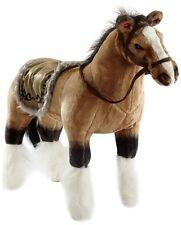 Happy People Pferd mit Sound Stehend Tragkraft Kinderspiele Spielzeug Braun NEU