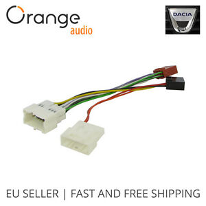 wiring harness adapter for dacia 2012 iso connector. Black Bedroom Furniture Sets. Home Design Ideas