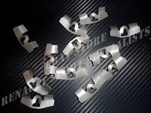 10 Agrafes,Clips Garniture hayon arrière PEUGEOT 205 GTI