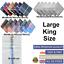 100-Mens-Cotton-Handkerchiefs-Large-Gents-King-Size-White-Dark-Color-Lot thumbnail 1