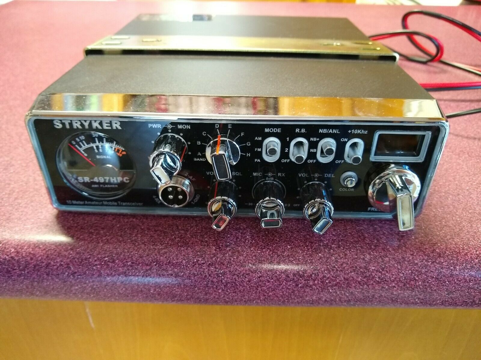 Stryker SR497-HPC 10 meter/cb radio. Please read description.. Available Now for 450.00
