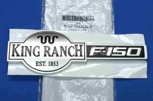 BRAND NEW OEM FORD F-150 KING RANCH REAR TAILGATE EMBLEM 09-14 #9L3Z-9942528-D