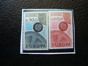 Andorra-French-Stamp-Yvert-and-Tellier-N-179-180-N-A22-Stamp-Andorra