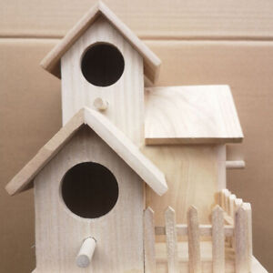 Wood-Birds-House-Wooden-Yard-Bird-Garden-Tree-Nesting-Hanging-Parrot-Accessories