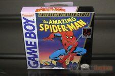 The Amazing Spider-Man (Game Boy, 1990) H-SEAM SEALED! - EXCELLENT! - RARE!