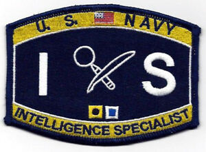 a4ed584d68a Image is loading IS-US-NAVY-INTELLIGENCE-SPECIALIST-RATING-HAT-PATCH-