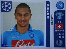 Panini 65 Gökhan Inler SSC Napoli UEFA CL 2011/12