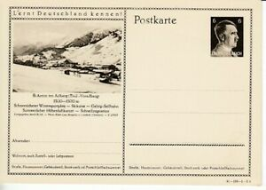 German-Reich-Stationery-P-304-St-Anton-At-Arlberg