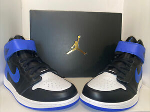 Details about Nike Air Jordan 1 Hi Flyease Black /hyper Royal /white Size 11 Mens Cq3835-041